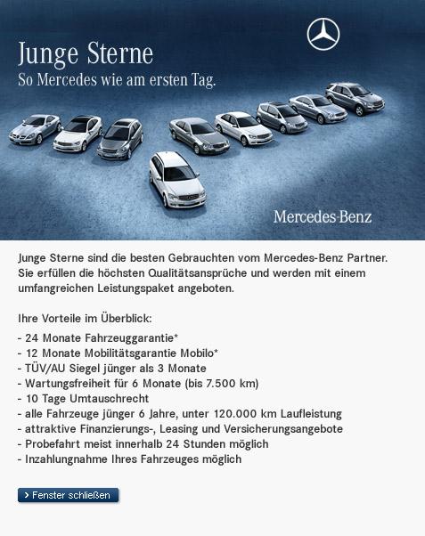 junge sterne - mercedes-benz c-klasse jahreswagen & gebrauchtwagen